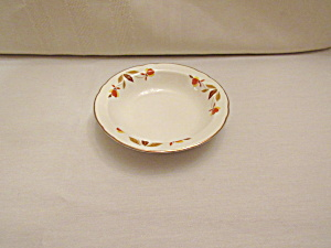 Hall Autumn Leaf Jewel T Fruit Bowl