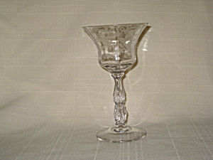 Cambridge Chantilly Footed Wine Tumbler