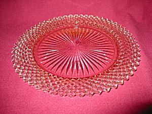 PINK MISS AMERICA SALAD PLATE (Image1)