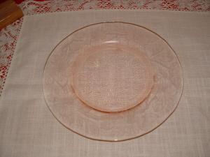 PINK DOGWOOD LUNCHEON PLATE (Image1)