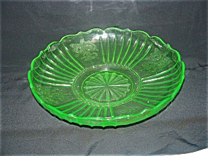 Green Mayfair Depression Shallow Bowl