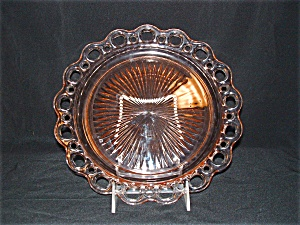 Old Colony Open Lace Dinner Plate