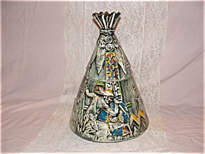 Rare Mccoy Tepee Cookie Jar