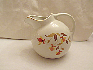 Hall Autumn Leaf Ball Jug #3