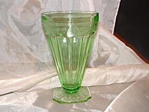 RARE GREEN ADAM DEPRESSION ICE TEA TUMBLER (Image1)