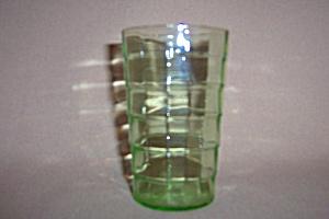 GREEN BLOCK OPTIC 5 OZ FLAT TUMBLER (Image1)