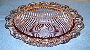 Old Colony Open Lace Ribbed Serving Bowl