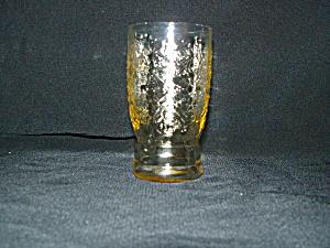 AMBER MADRID FLAT JUICE TUMBLER (Image1)