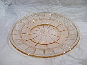 PINK DORIC SHERBET PLATE (Image1)
