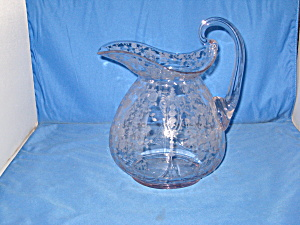 Cambridge Rose Point 80 Oz Water Jug