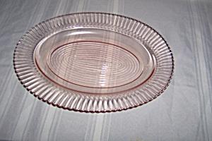 PINK PETALWARE LARGE OVAL PLATTER (Image1)