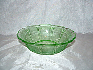 Green Cherry Blossom Depression Cereal Bowl
