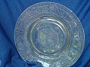 YELLOW FLORENTINE #2 SALAD PLATE (Image1)