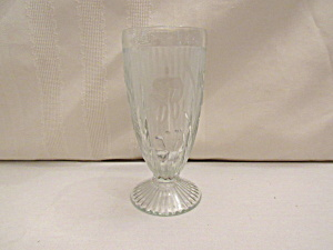 IRIS & HERRINGBONE FOOTED TUMBLER (Image1)