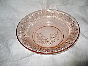 PINK SHARON FLAT SOUP BOWL (Image1)