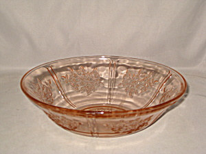 Pink Sharon Large Berry Bowl