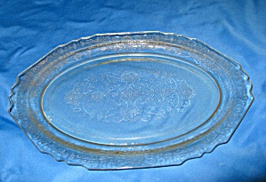 YELLOW FLORENTINE #1 OVAL PLATTER       (Image1)