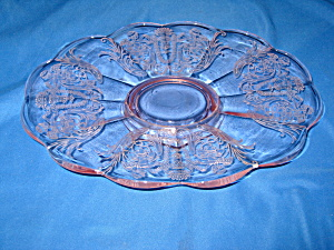 PINK CUPID OVAL PLATE            (Image1)