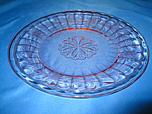 Pink Sunflower Dinner Plate
