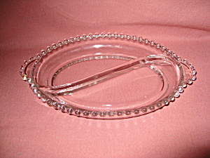 CANDLEWICK OVAL S CURVED RELISH DISH (Image1)
