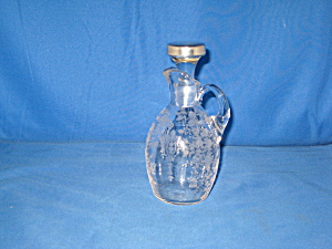 Cambridge Rose Point Pristine 6 Oz Cruet