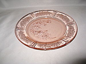 Pink Sharon Depression Salad Plate