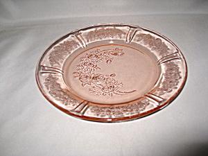 PINK SHARON DEPRESSION SALAD PLATE (Image1)