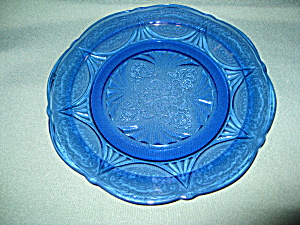 COBALT ROYAL LACE DINNER PLATE (Image1)