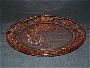 PINK SHARON DEPRESSION DINNER PLATE (Image1)
