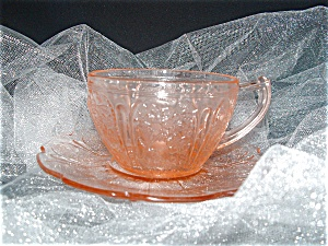 PINK CHERRY BLOSSOM CUP AND SAUCER (Image1)
