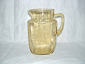 Amber Madrid 60 Oz Pitcher