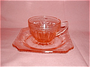 PINK ADAM DEPRESSION CUP & SAUCER (Image1)
