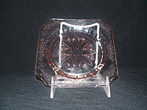 PINK ADAM DEPRESSION SHERBET PLATE (Image1)