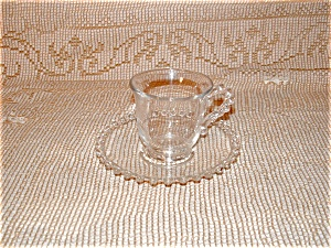 CANDLEWICK DEMITASSE CUP & SAUCER SET (Image1)