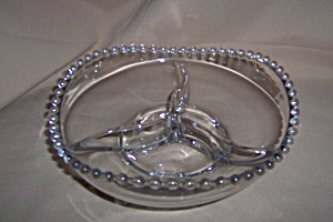 CANDLEWICK 3 PART FOOTED RELISH DISH (Image1)