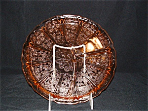 PINK CHERRY BLOSSOM GRILL PLATE (Image1)