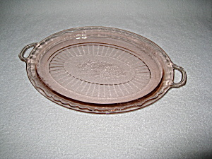 Pink Mayfair Oval Platter