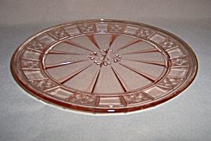 PINK DORIC DINNER PLATE (Image1)
