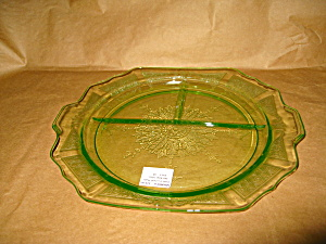 Green Princess Grill Plate