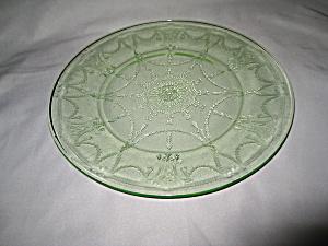 GREEN CAMEO BALLERINA DINNER PLATE (Image1)