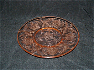 PINK FLORAL POINSETTIA SHERBET PLATES (Image1)