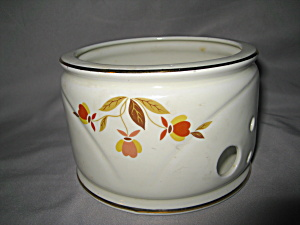 Hall Autumn Leaf Round Candle Warmer