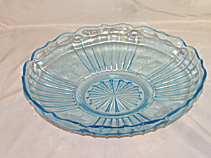 Blue Mayfair Depression Shallow Bowl