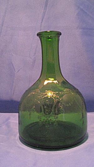 GREEN CAMEO BALLERINA WHITEHOUSE VINEGAR BOTT (Image1)