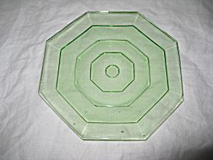 RARE UNDOCUMENTED GREEN TEA ROOM SALAD PLATE (Image1)