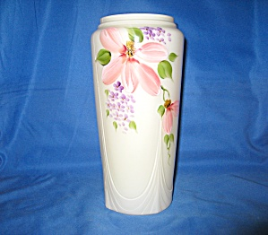 Fenton Buttercup Overlay Floral Vase (Image1)