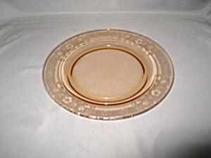 AMBER FOSTORIA VESPER SALAD PLATE     (Image1)