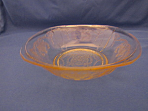 YELLOW LORAIN BASKET CEREAL BOWL   (Image1)