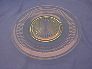 GREEN ROULETTE LUNCHEON PLATE   (Image1)