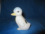 Click here to enlarge image and see more about item 5169LW: Spring Duck Figurine